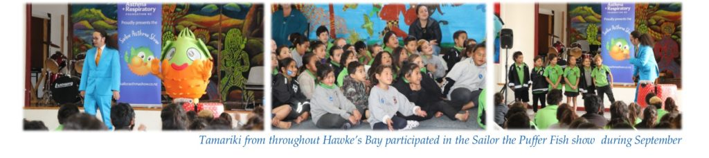 Promoting asthma awareness to Hawke's Bay kids